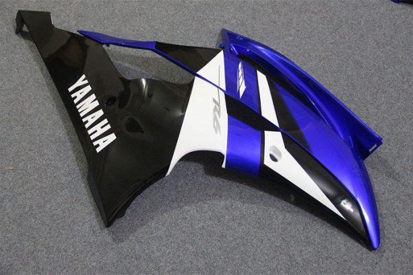 Пластик на мотоцикл Yamaha YZF-R6 2008-2015 Сине-Бело-Черный-5