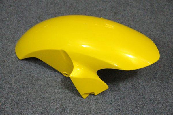 Пластик на мотоцикл Yamaha YZF-R6 2008-2015 Черно-Желтый-1