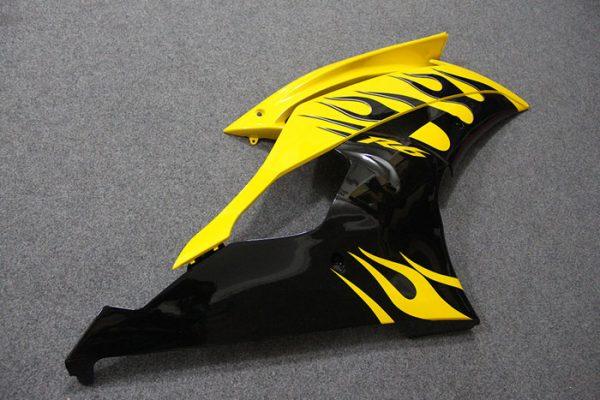 Пластик на мотоцикл Yamaha YZF-R6 2008-2015 Черно-Желтый-3
