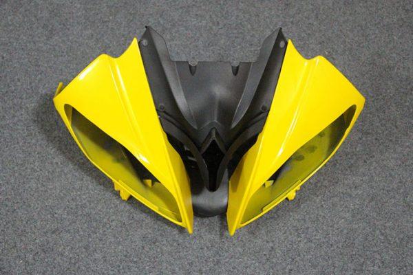Пластик на мотоцикл Yamaha YZF-R6 2008-2015 Черно-Желтый-7