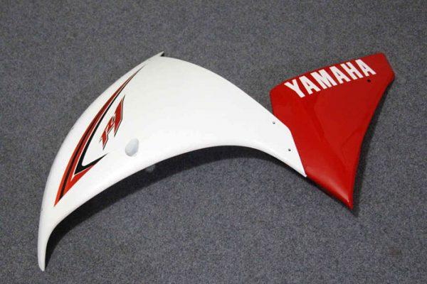 Пластик на мотоцикл Yamaha YZF-R1 09-11 Бело-Красный-1