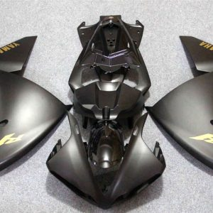 Пластик на мотоцикл Yamaha YZF-R1 09-11 Черный матовый