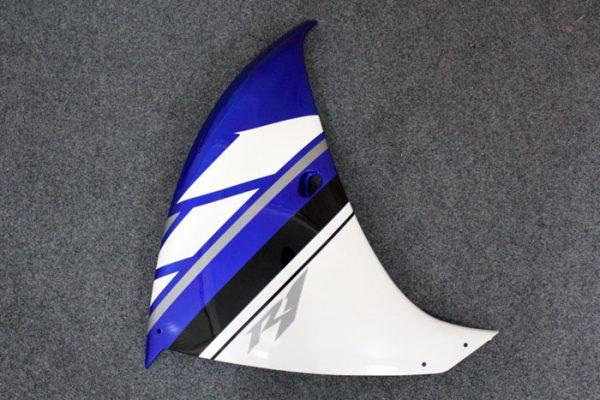 Пластик на мотоцикл Yamaha YZF-R1 09-11 Сине-Белый-5