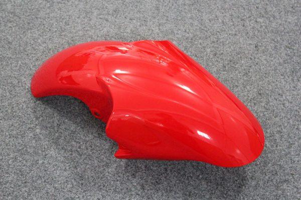 Пластик на мотоцикл Yamaha YZF-R6 1999-2002 Красно-Черный-3