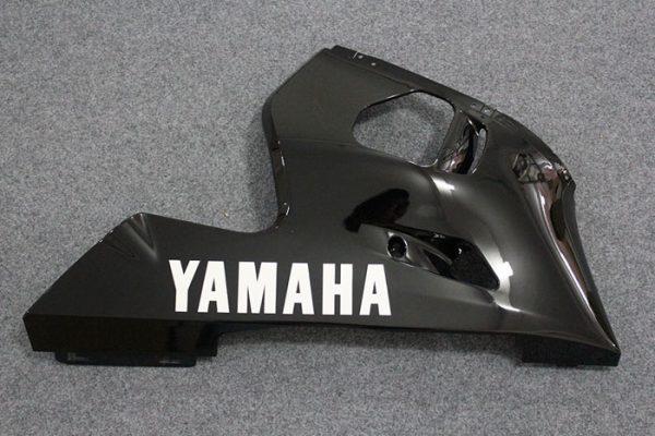 Пластик на мотоцикл Yamaha YZF-R6 1999-2002 Красно-Черный-6